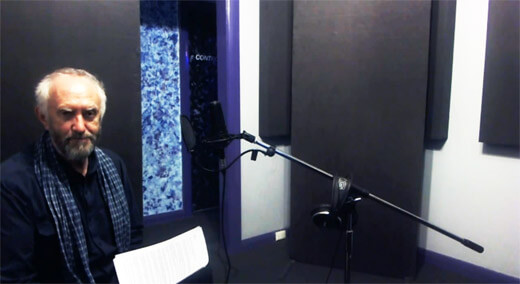 Jonathan Pryce Voice Over Recording