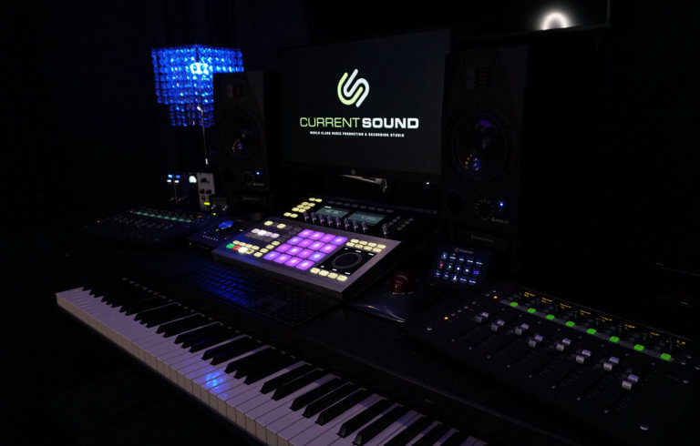 Recording Studio - Mixing Desk, Keyboard & Maschine Studio, Current Sound - Studio B