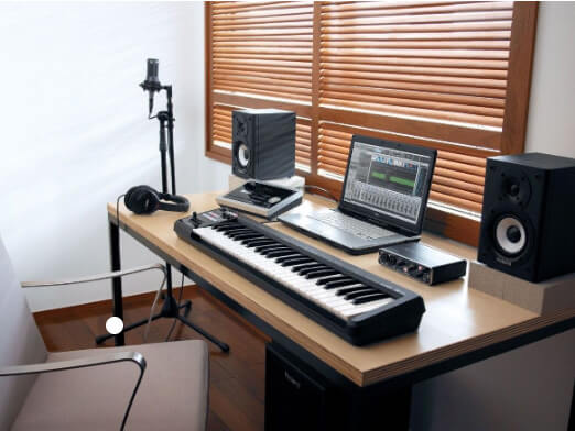 Home recording studio - Demo cutting setup example